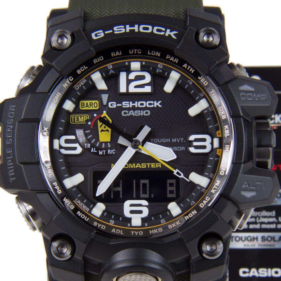 CASIO G-SHOCK MUDMASTER WATCH GWG-1000-1A3 GWG-1000-1A