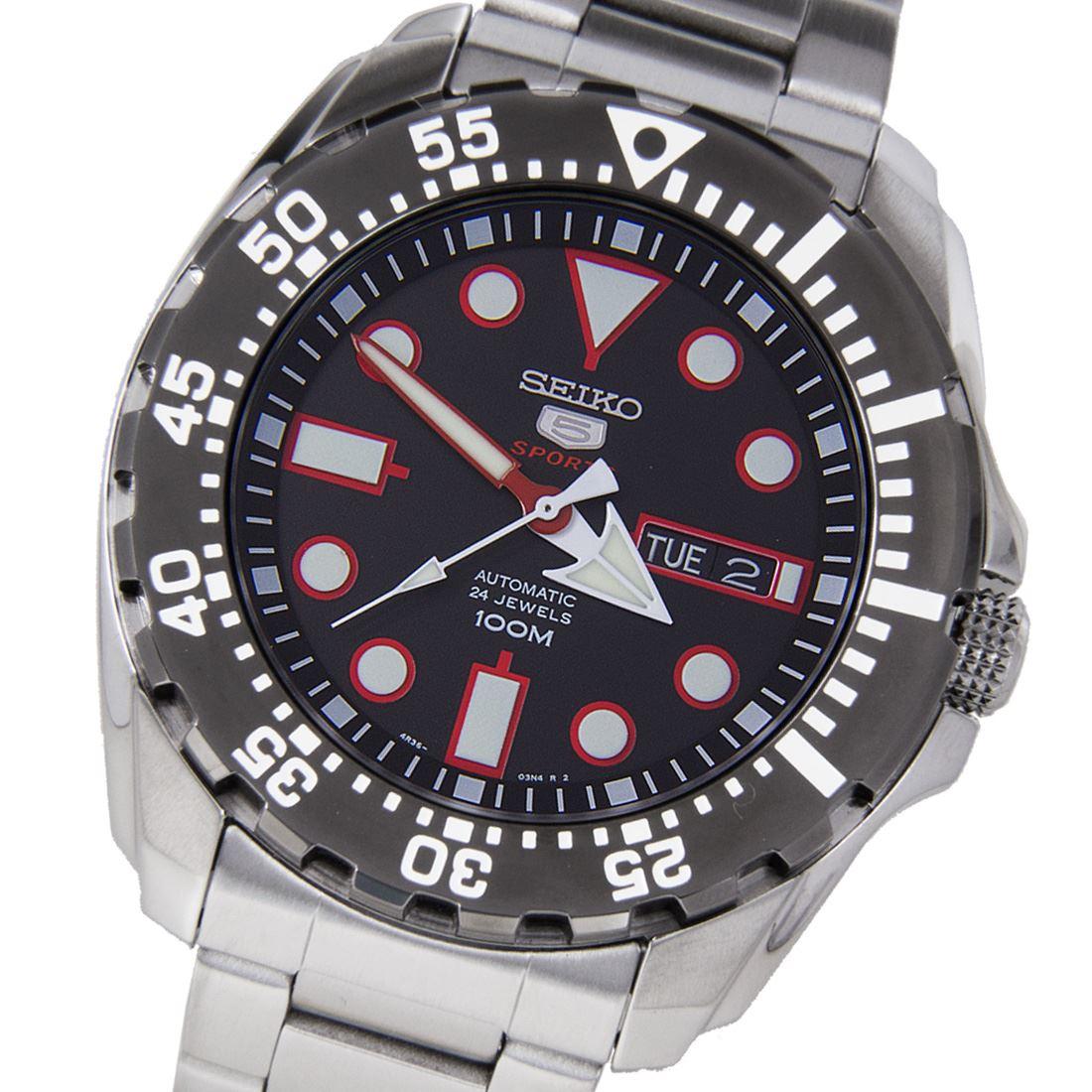 Seiko 5 sports diver watch srp601k1 srp603k1 srp605k1 ebay - Seiko dive watch history ...