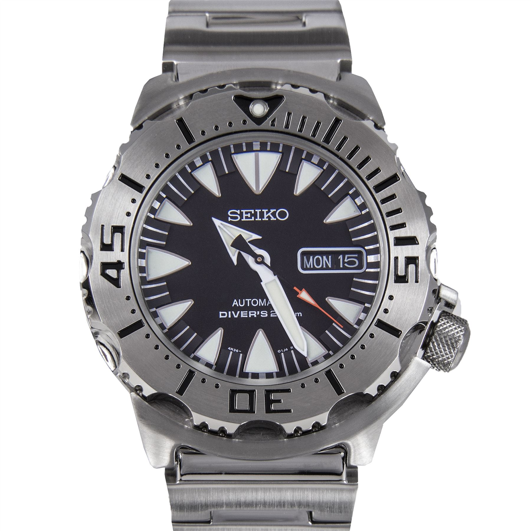 Seiko automatic divers monster watch srp307k1 srp307k2 srp315k2 ebay - Seiko dive watch history ...