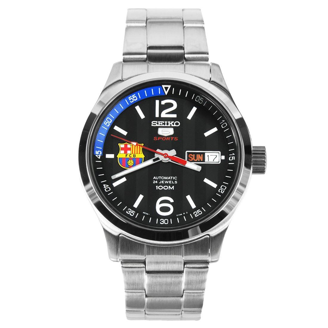 SRP301K1 SRP301 SRP301K Seiko Automatic FC Barcelona Watch