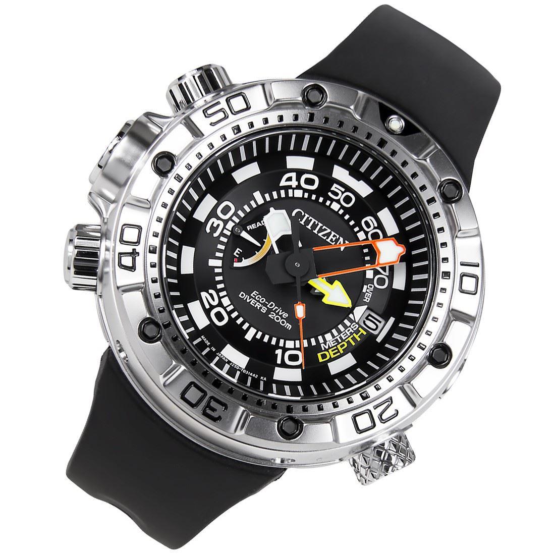 Bn2021 03e bn2024 05e citizen promaster eco drive divers 200m watch ebay - Citizen promaster dive watch ...