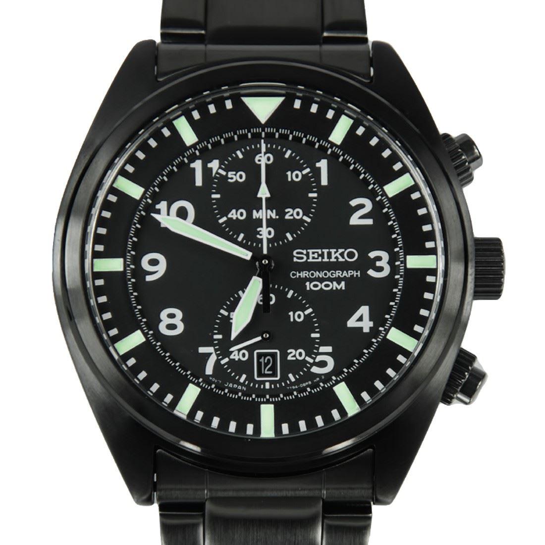 snn231p2 snn233p1 snn235p1 snn237p1 seiko mens chronograph water resistant watch ebay