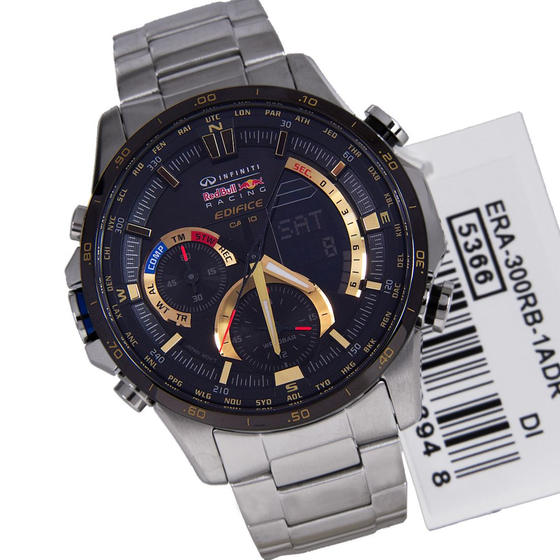 casio edifice infiniti limited edition red bull watch era 300rb 1a ebay. Black Bedroom Furniture Sets. Home Design Ideas