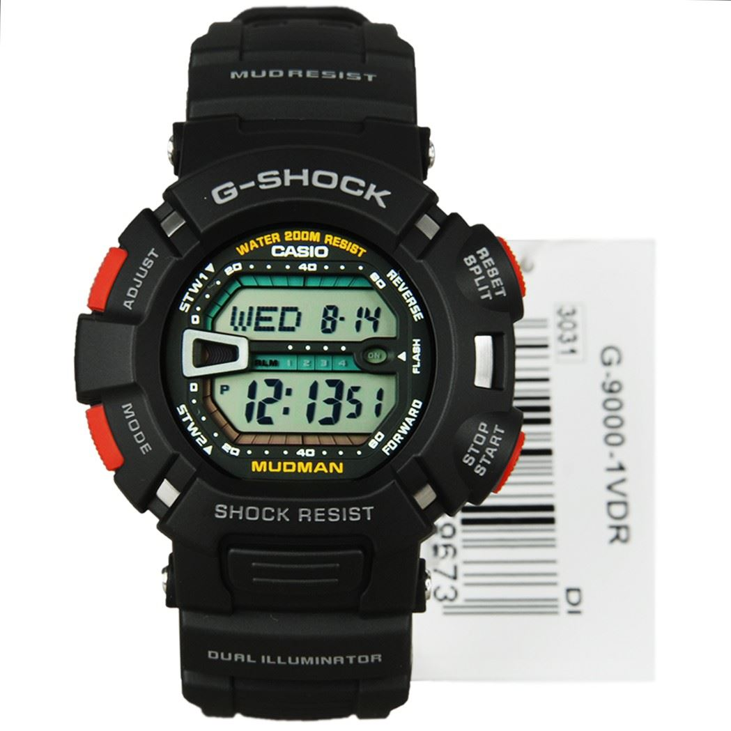 Casio Digital S... G Shock Mudman G9000