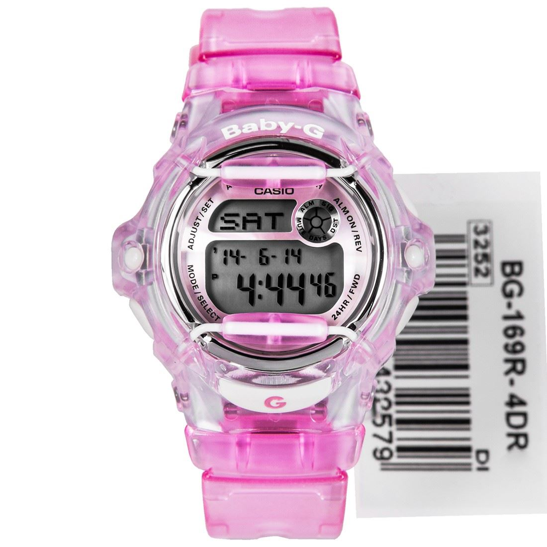 casio pink baby g womens bg 169r 4 bg169r ebay