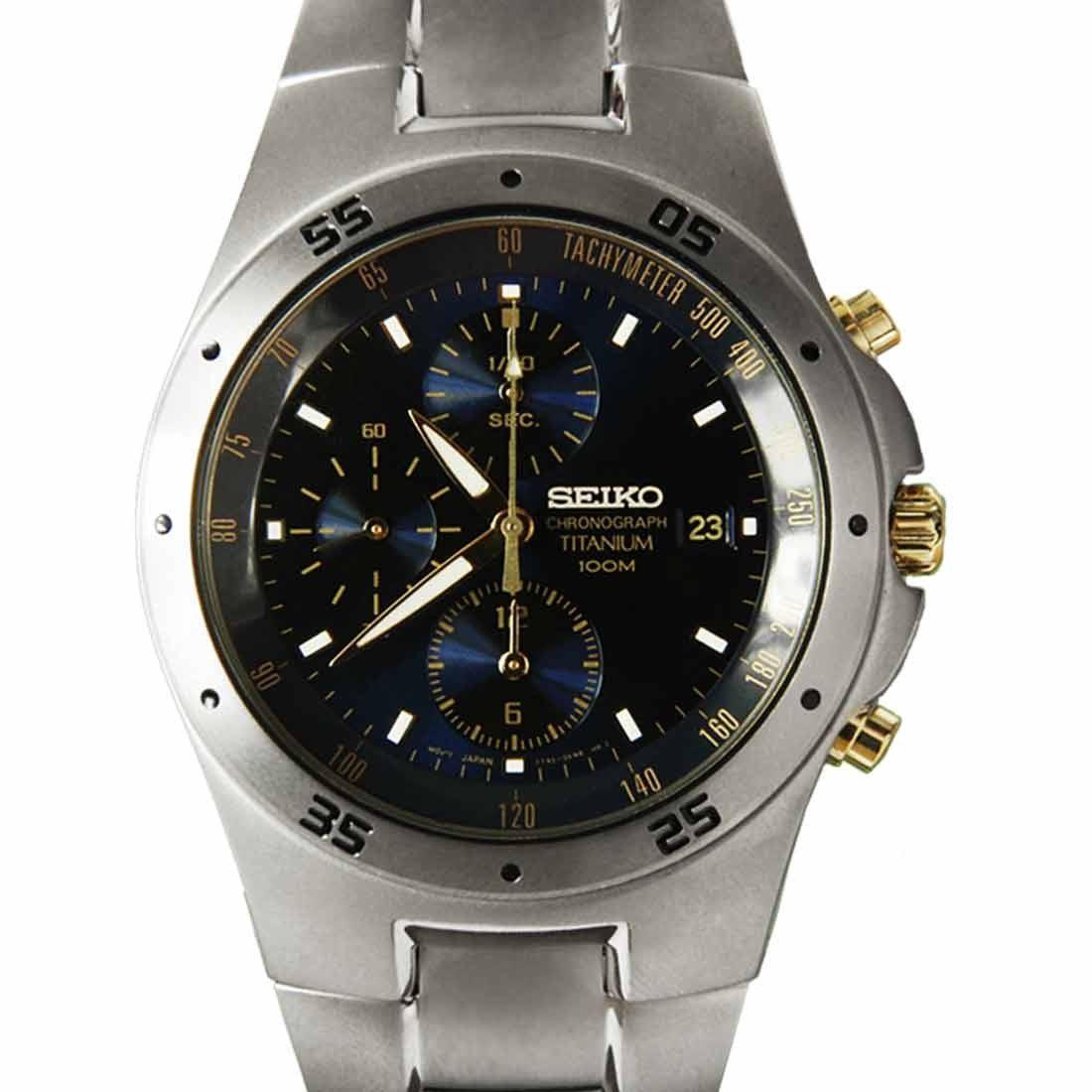 seiko titanium 100m chronograph mens snd449 snd449p1