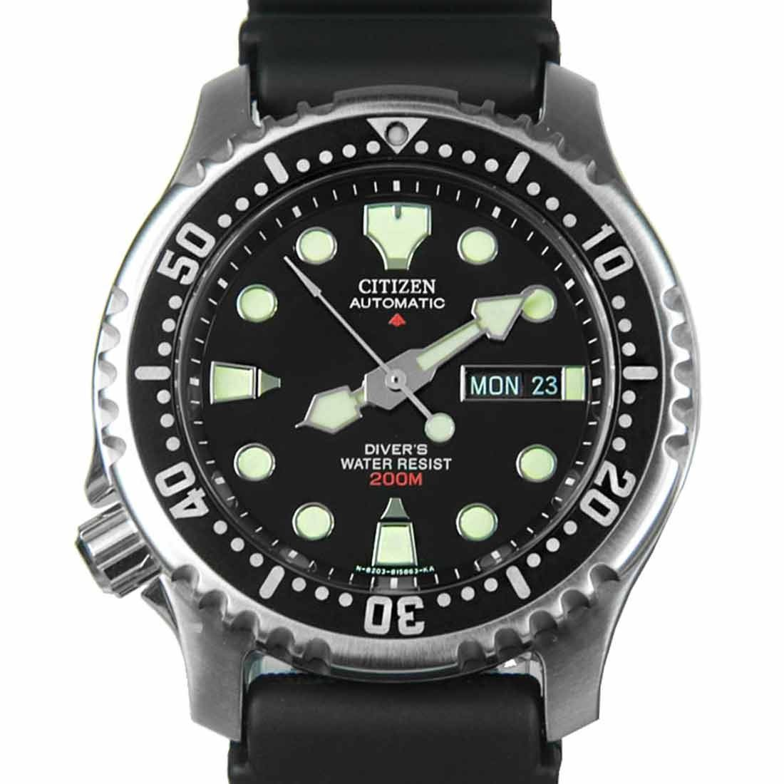 NY2300 NY0040 NY0054 Citizen Automatic Mens Scuba Diver Watch