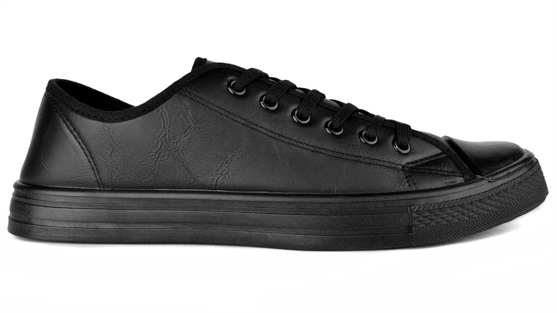 Converse Mens Chuck Taylor OX Leather Plimsolls Low Top Trainers Black White Brand New · Converse out of 5 stars - Converse Mens Chuck Taylor OX Leather Plimsolls .