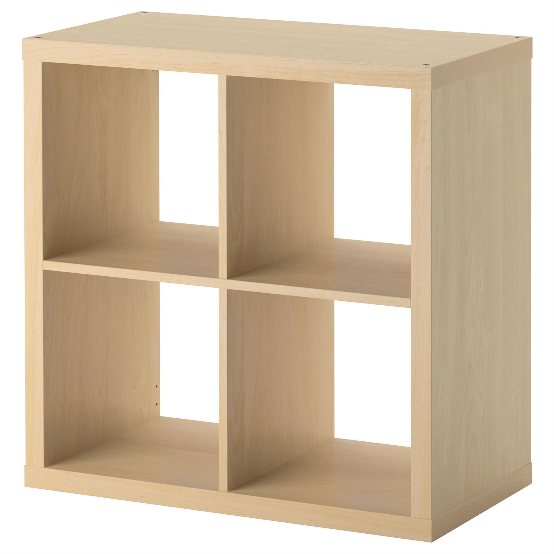 ikea kallax 4 cube storage bookcase square shelving unit various colours. Black Bedroom Furniture Sets. Home Design Ideas