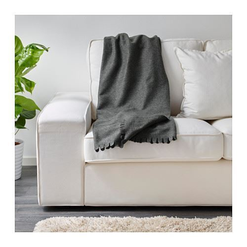 ikea polarvide sofa throw blanket fleece snuggly soft all colours 130 x 170 cm ebay. Black Bedroom Furniture Sets. Home Design Ideas