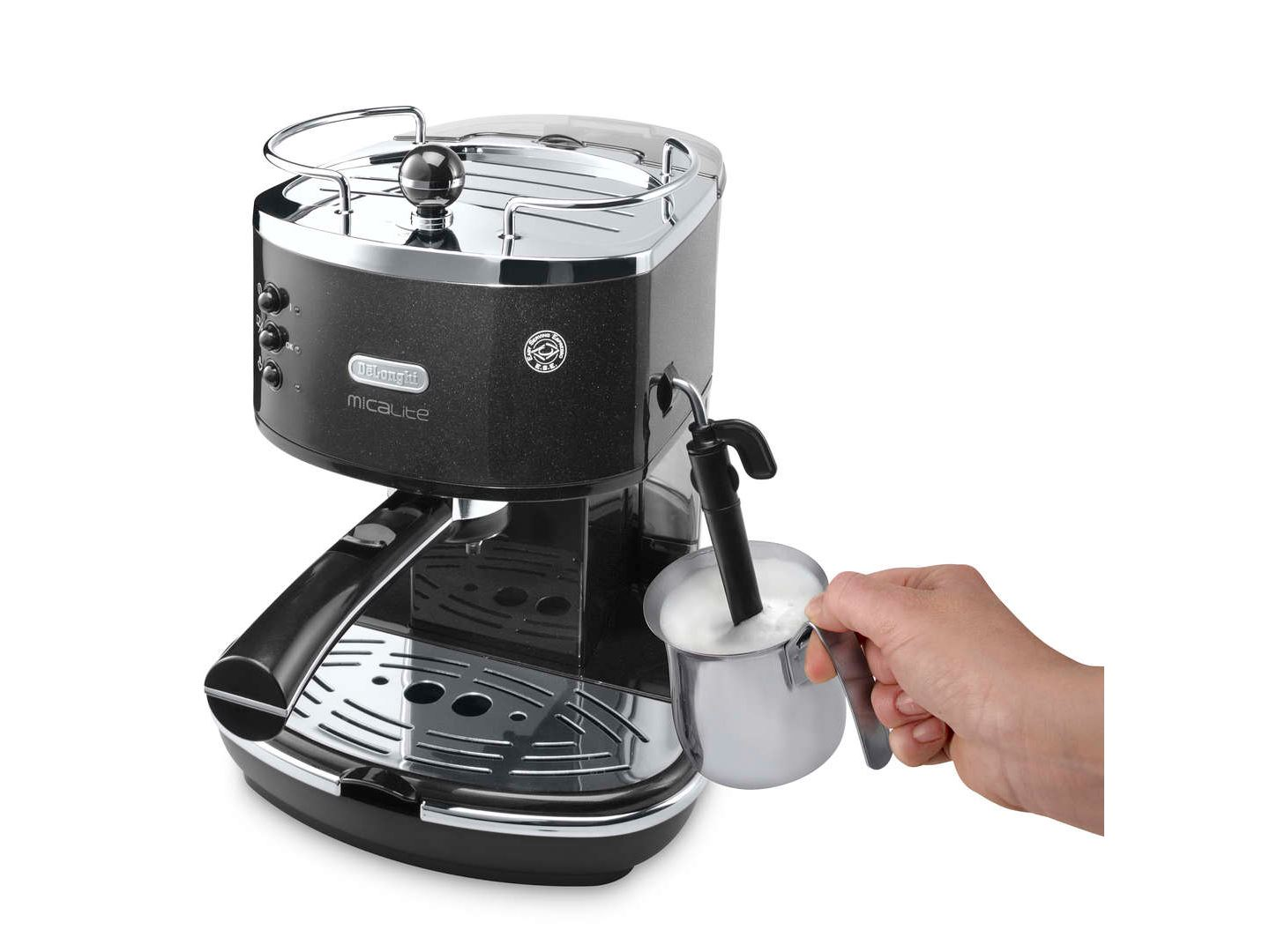 Delonghi Filter Coffee Maker : Delonghi ECOM310 Icona Micalite 2 Cup Espresso Filter Coffee Maker Machine NEW eBay