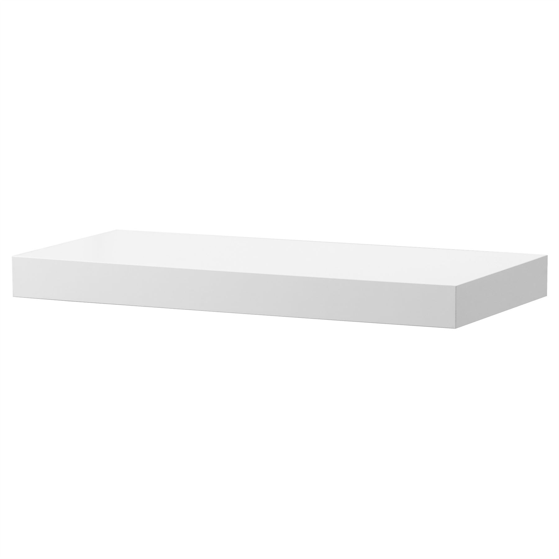 Ikea Lack Floating Wall Shelf Display Concealed Mounting ...