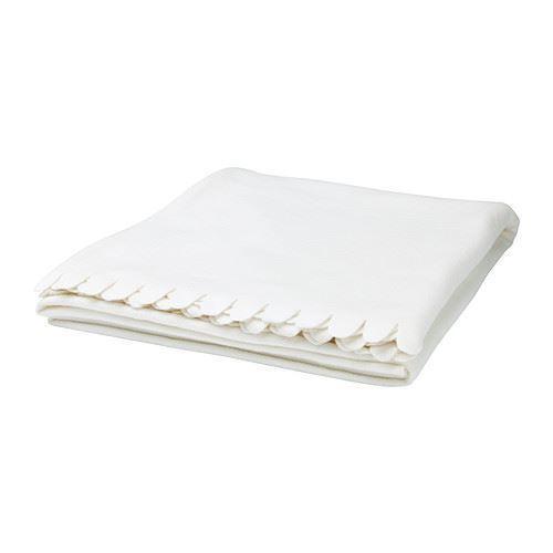 IKEA POLARVIDE Sofa Throw Blanket Fleece Snuggly Soft All