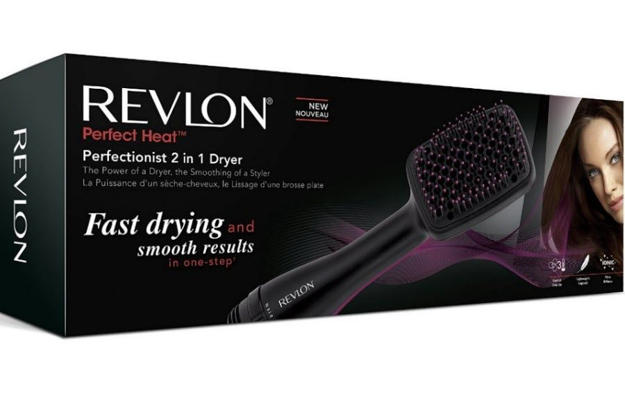 Revlon Rvha6475uk Perfectionist 2 In 1 Ionising Womens