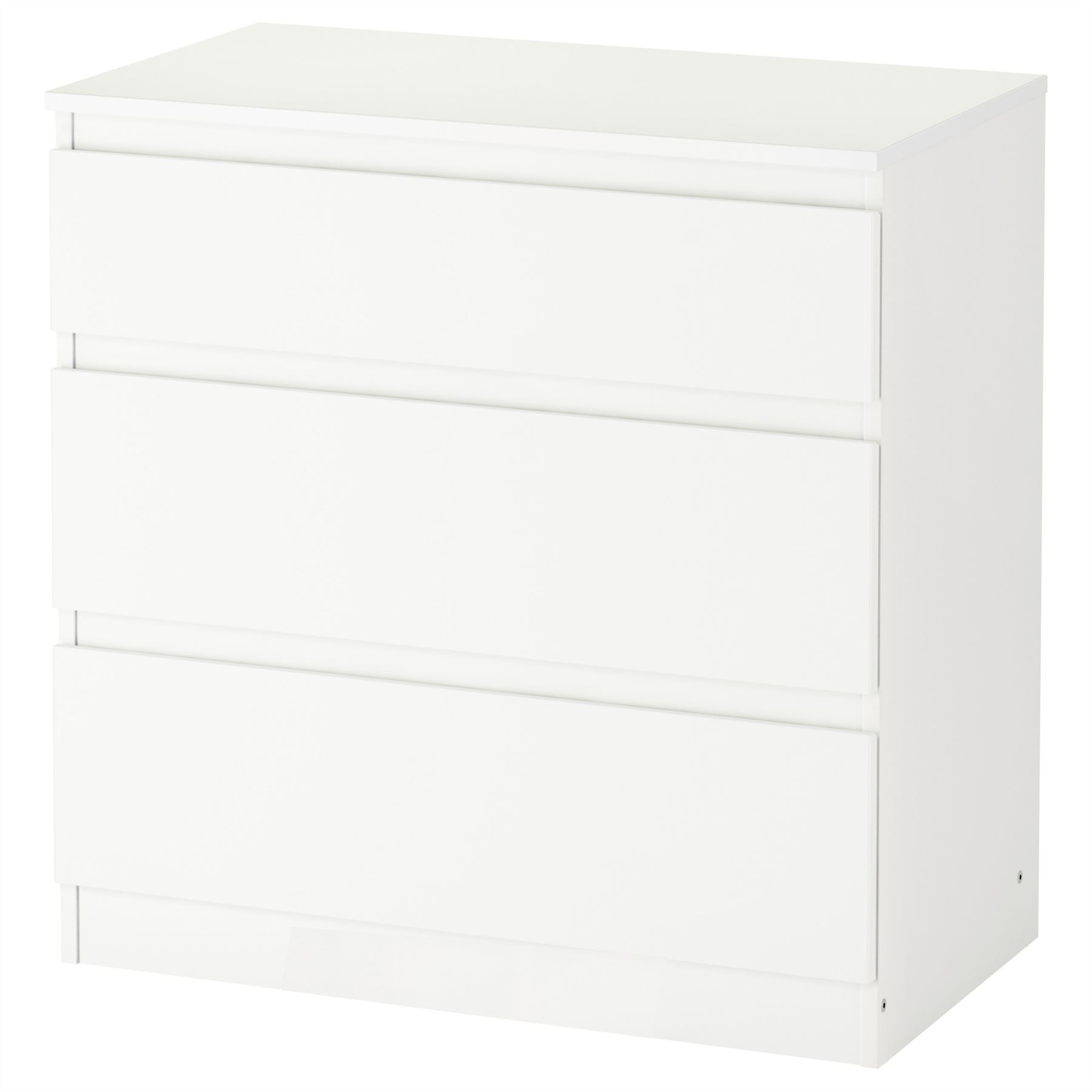 Ikea Kullen Chest Of Drawers White Oak Effect Bedroom Furniture NEW