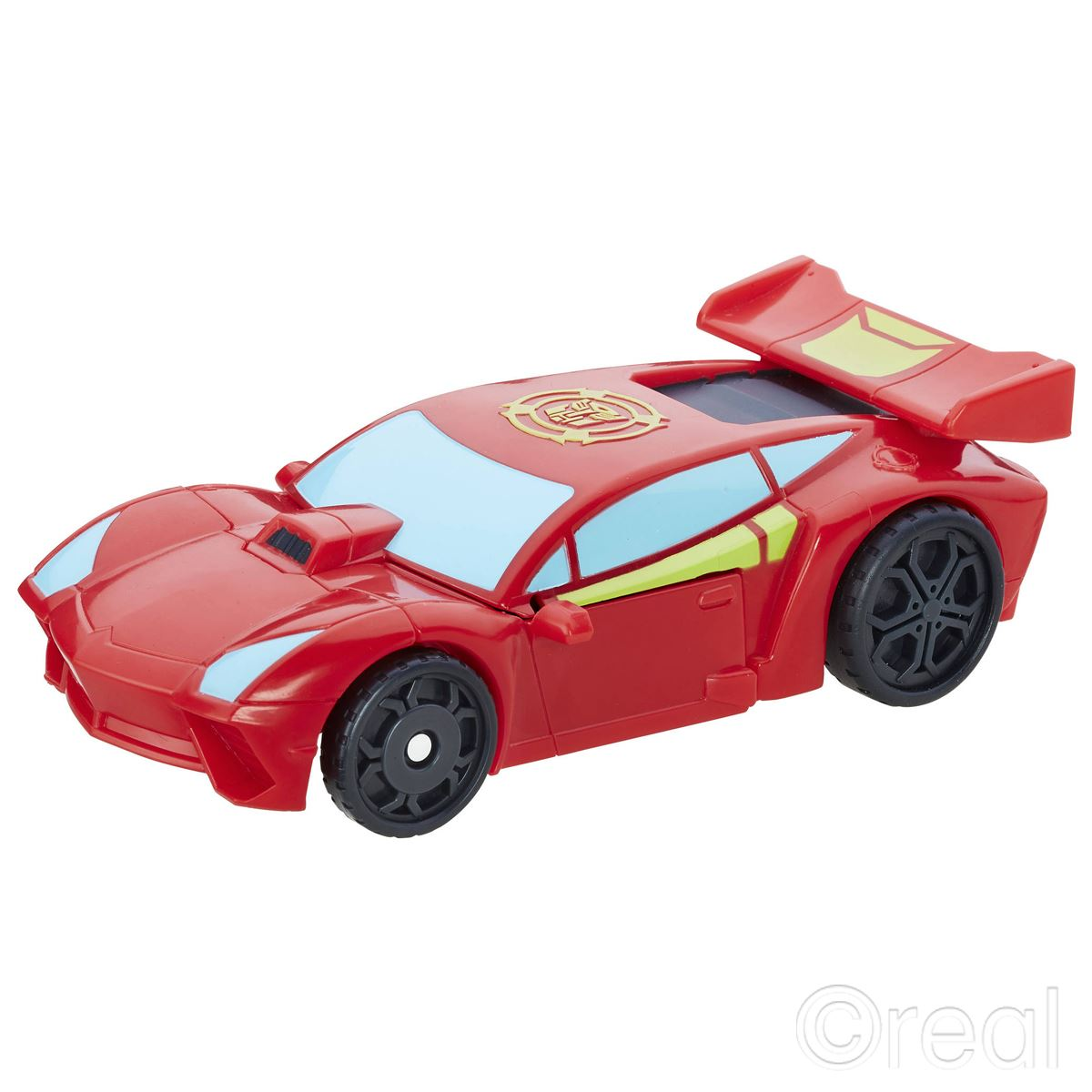 New Transformers Rescue Bots Sideswipe/Bumblebee Pull Back