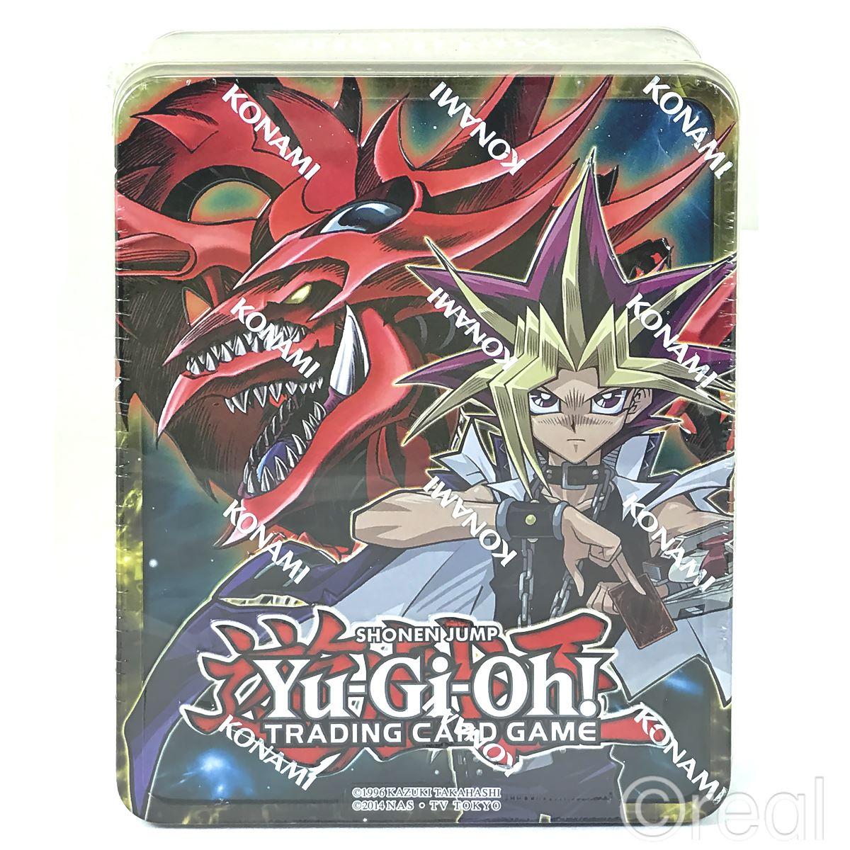 New Yu-Gi-Oh Yugi & Slifer Or Kaiba & Obelisk Mega Tin