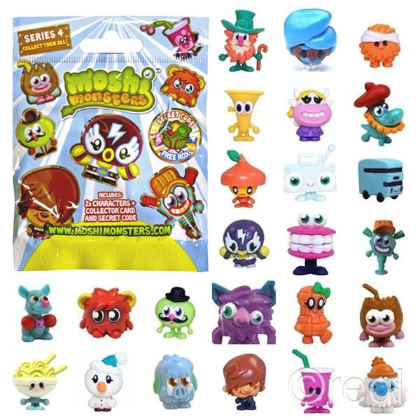 New Moshi Monsters Blind Bags Series 4 5 6 7 8 9 10 Amp 11
