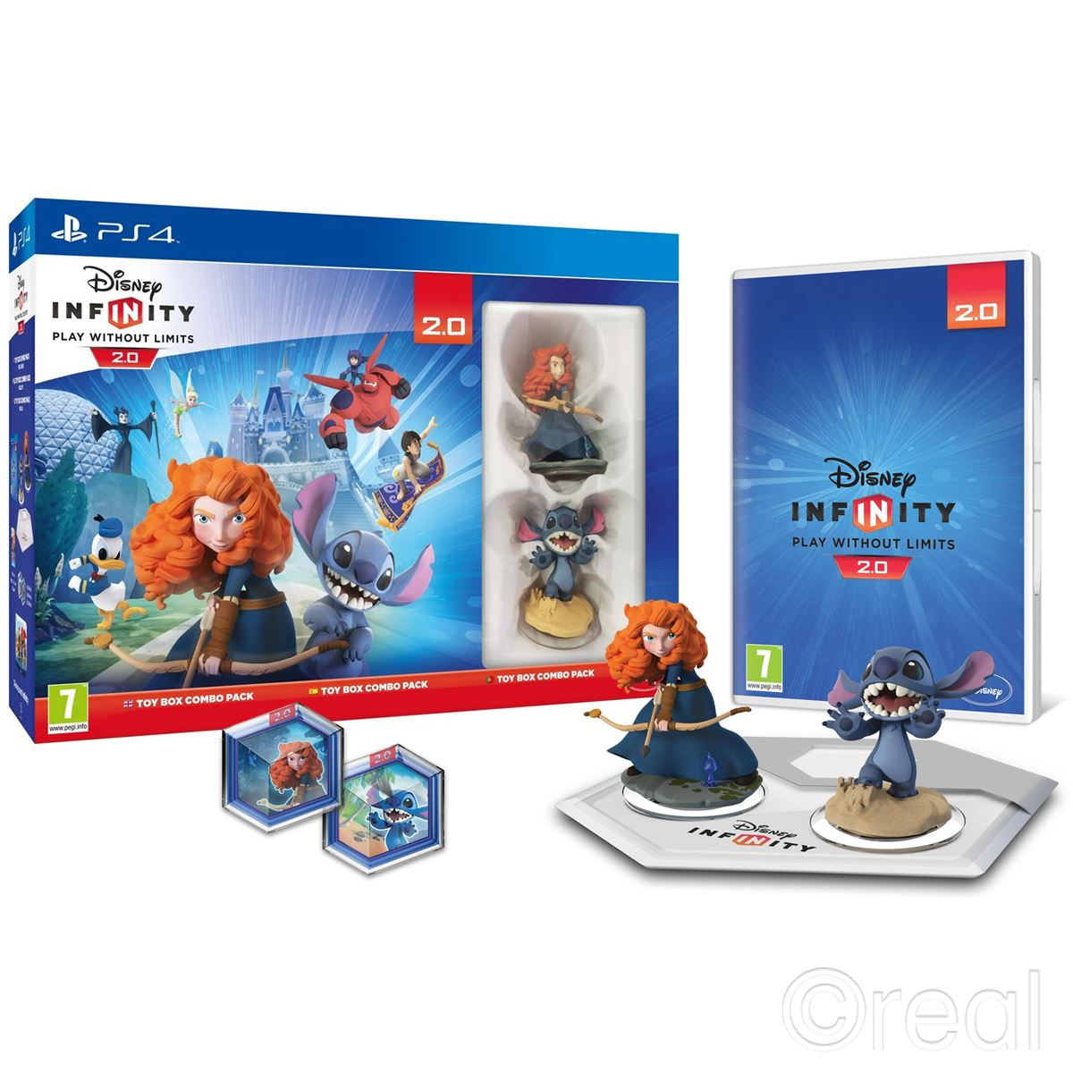 Disney Games For Ps4 : New ps disney infinity toy box combo pack brave