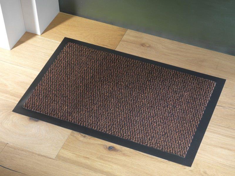 Faro Non Slip Heavy Duty Floor Door Mat Runner Rubber