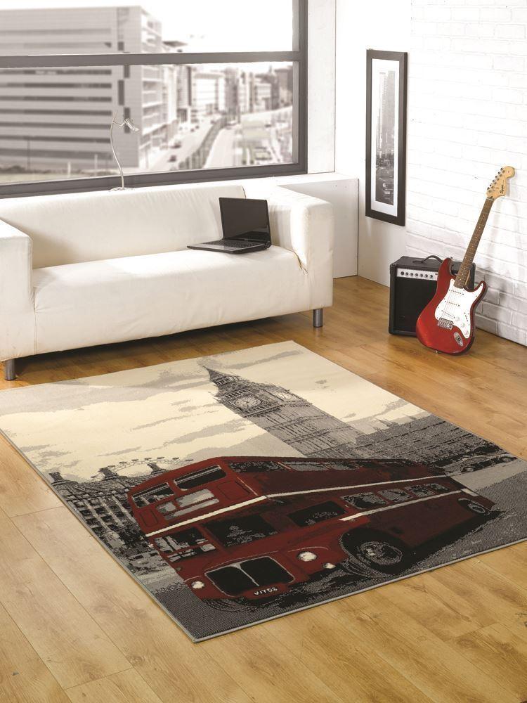 Gamma tappeti funky retr flair tappeti per camera da letto di bambini e ragazzi ebay - Tappeti da camera da letto ...