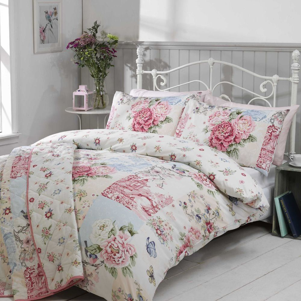 Asian pattern bedding