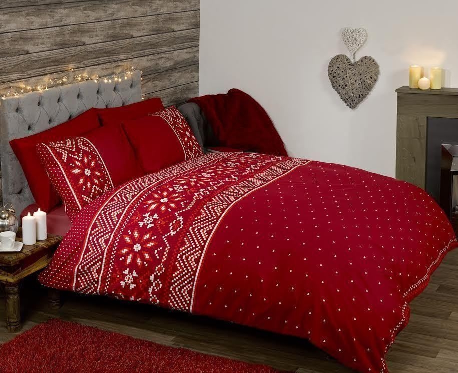 Nordic Seasonal Winter Bedding Scandinavian Christmas