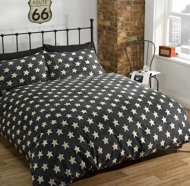 Route 66 Bedding American Licence Plate Classic Duvet Cover Single Double King
