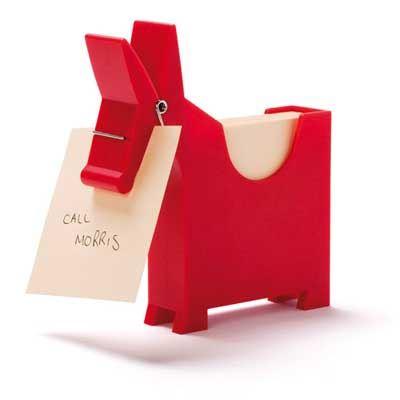 Morris The Memo Holder & Friends Bianca Robin Red Reindeer Funky Desk Tidy