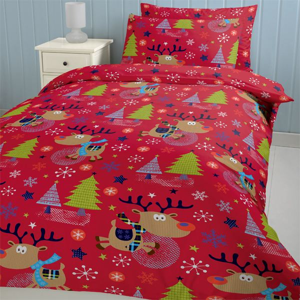 Christmas Single Double Duvet Range Xmas Kids Childrens Bedding | eBay