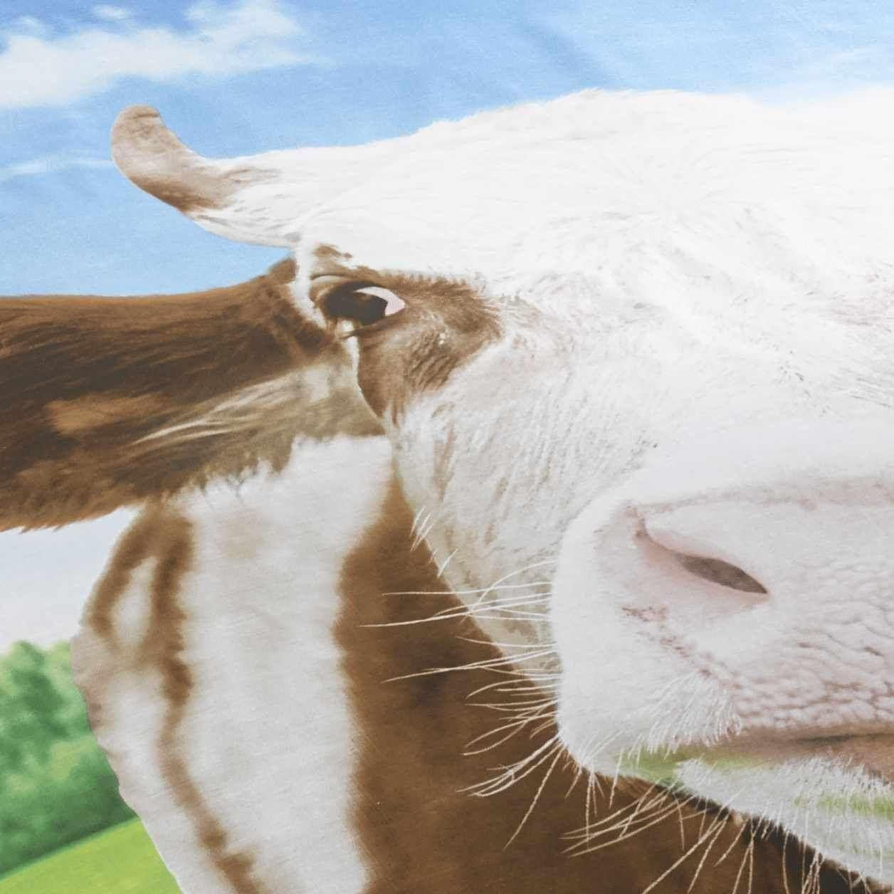 Daisy Cow Animal Print Novelty Bedding Duvet Cover