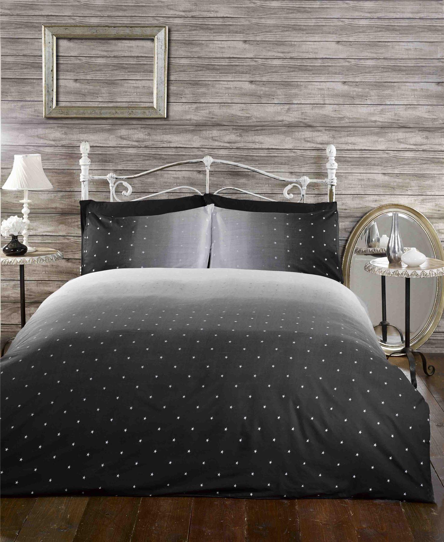 rapport essence nacht himmel farbverlauf galaxy stern bettbezug bettw sche ebay. Black Bedroom Furniture Sets. Home Design Ideas