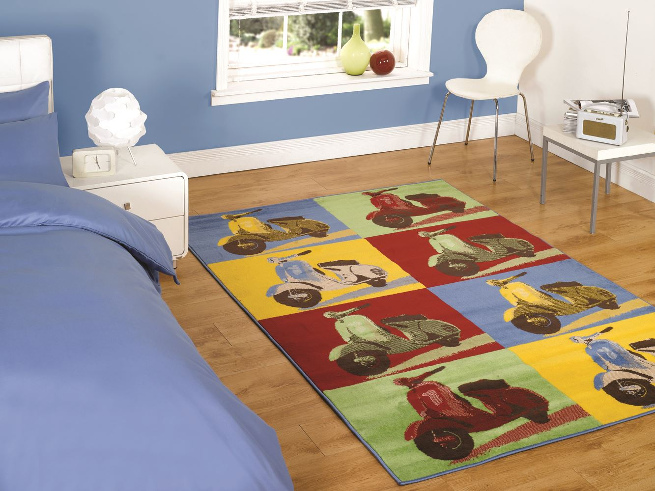 Retro Funky Rug Range By Flair Rugs Teenager Childrens Bedroom Floor Bright B