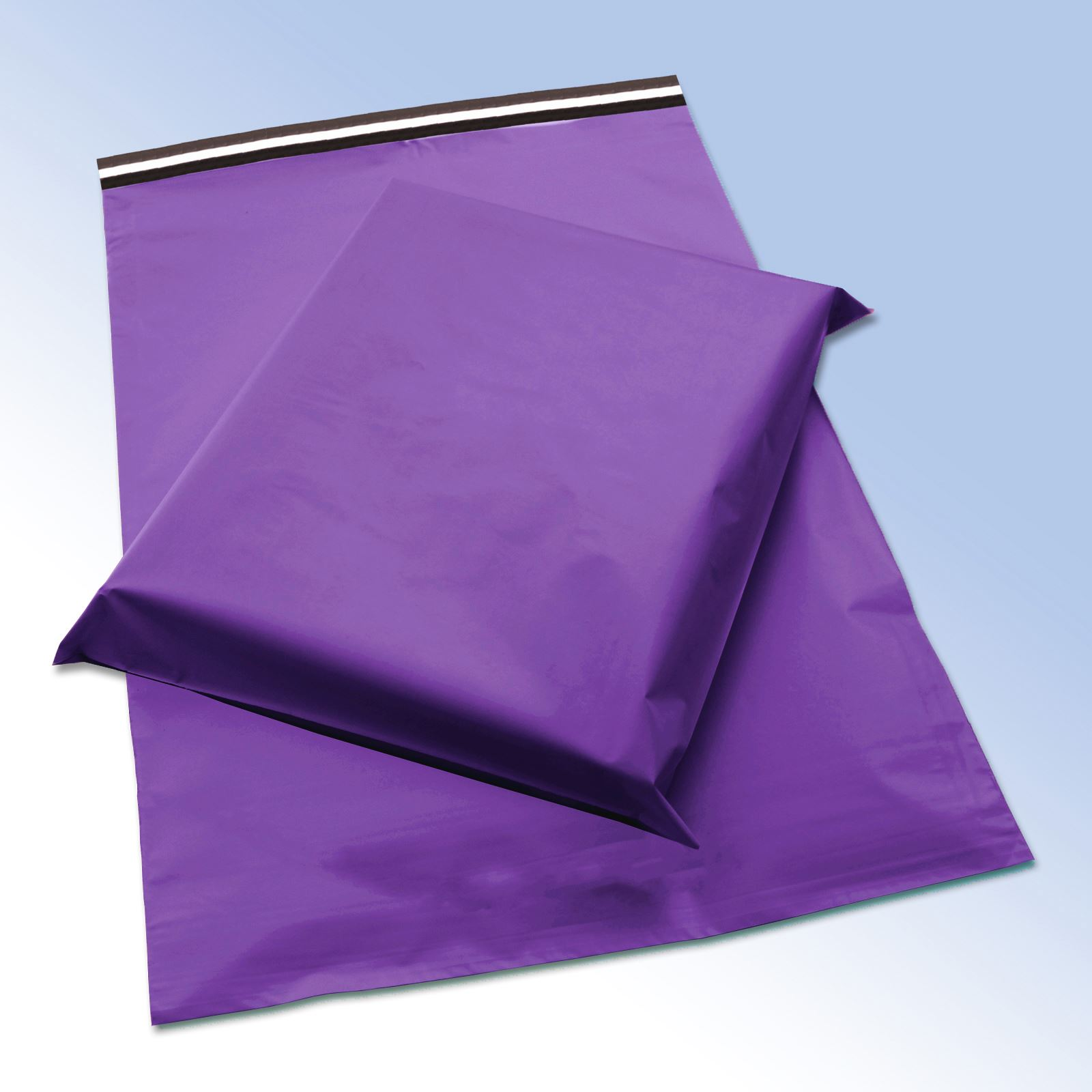 Pink & Purple 50 Micron COEX Plastic Postage Opaque Self Seal Mailing Bags