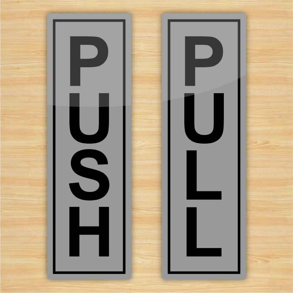 Push Pull Stickers For Glass Doors Images
