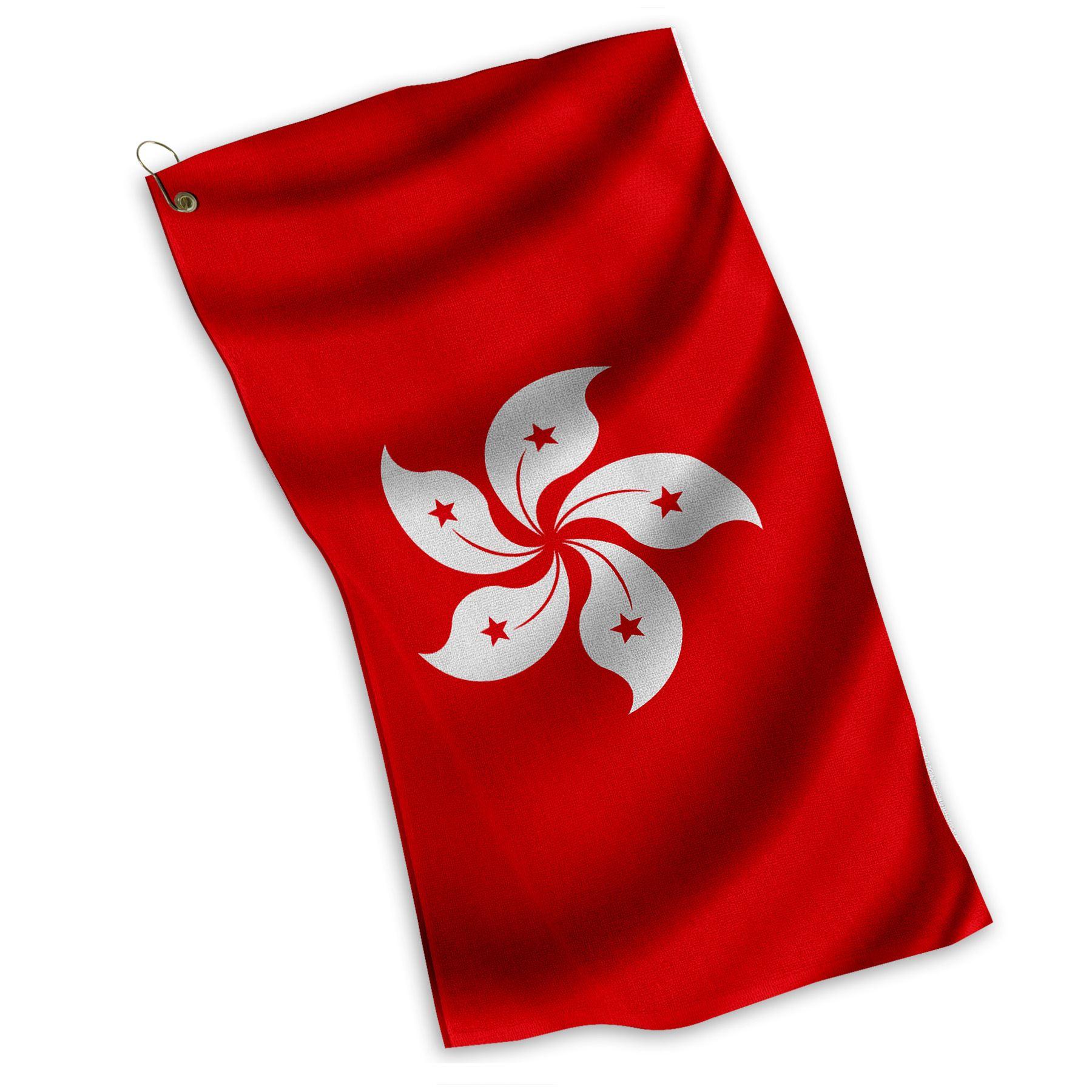 Kitchen Design Hong Kong: Golf / Sports / Kitchen Towel With Flag Of Hong Kong