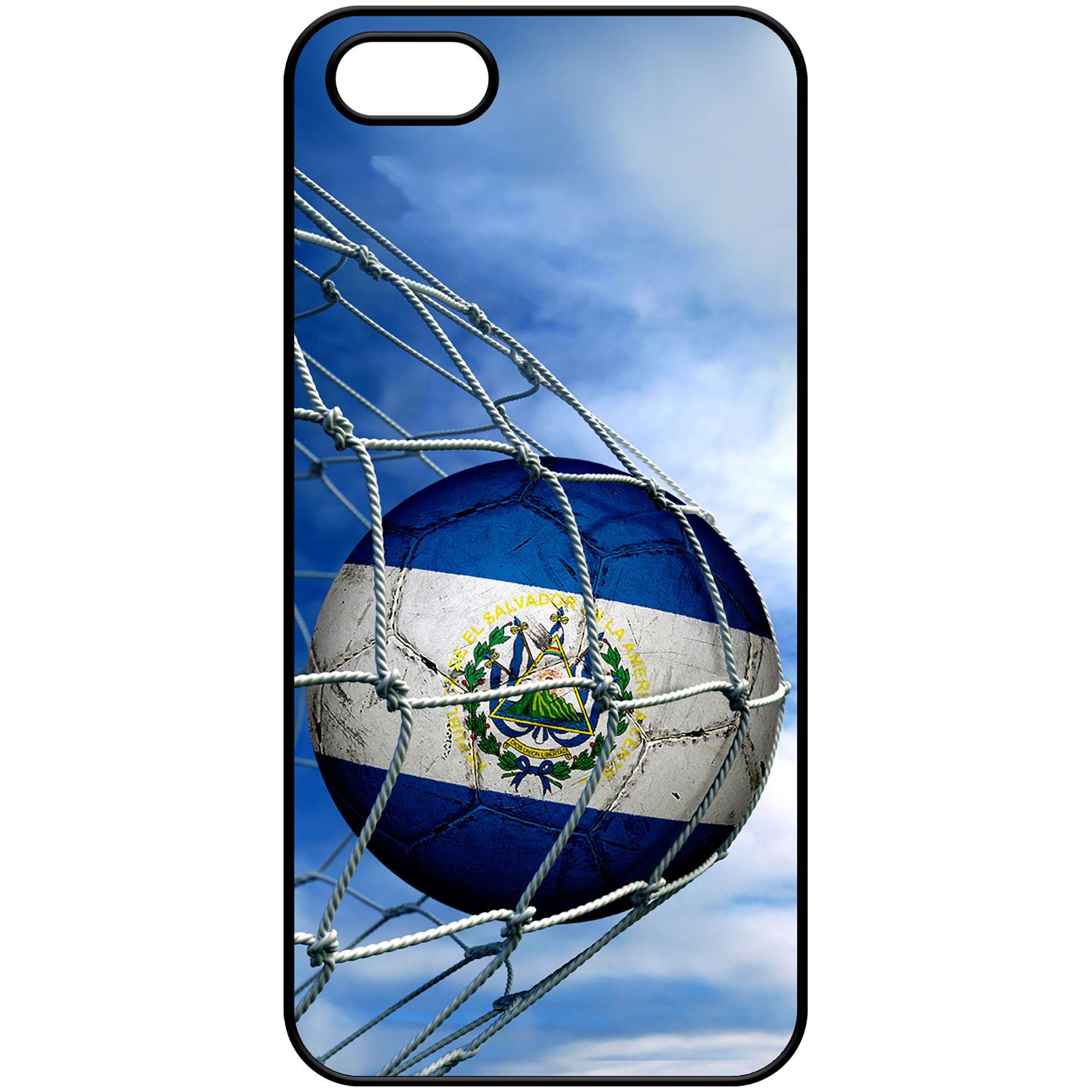 Case for iPhone 5 / 5S - Flag of El Salvador - Choose your design