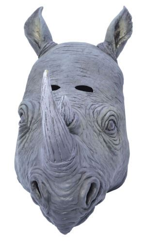 Full-Head-Rubber-Latex-Animal-Zoo-Masks-Safari-Fancy-Dress-Costume-Group-Party
