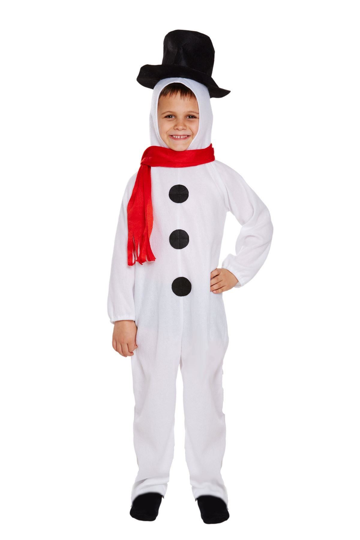 Childrens-Festive-Olaf-Christmas-Snowman-Kids-Fancy-Dress-  sc 1 st  eBay & Childrens Festive Olaf Christmas Snowman Kids Fancy Dress Costume | eBay