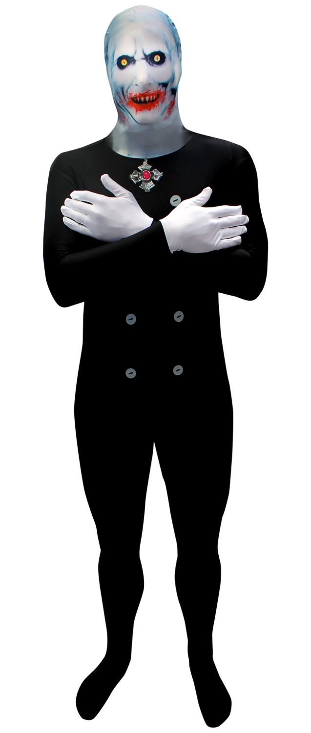adults scary dracula vampire lord morphsuit halloween fancy - Morphsuits Halloween Costumes