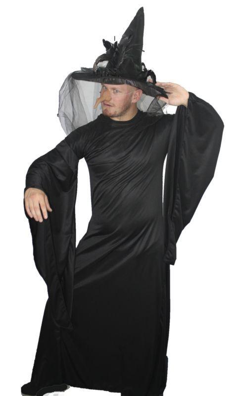 Fun Halloween Drag Queen Man Witch Fancy Dress Complete Male Costume | eBay