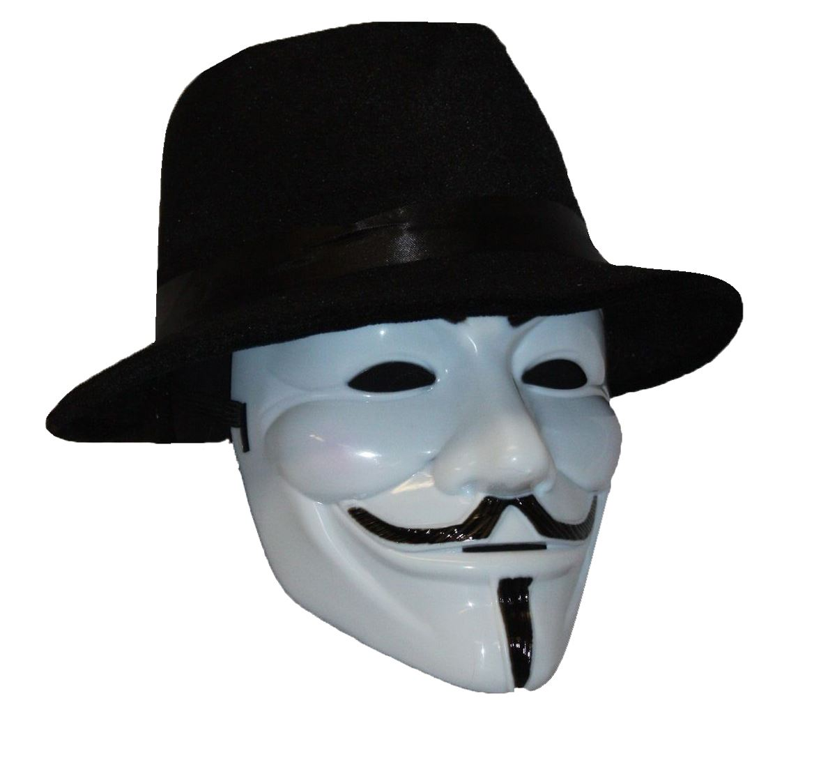 Anonymous V for Vendetta Mask Hat Guy Fawkes We Are 99 ...