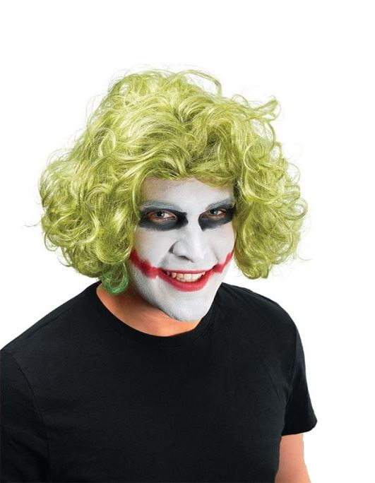 Joker Wig And Face Paint 43