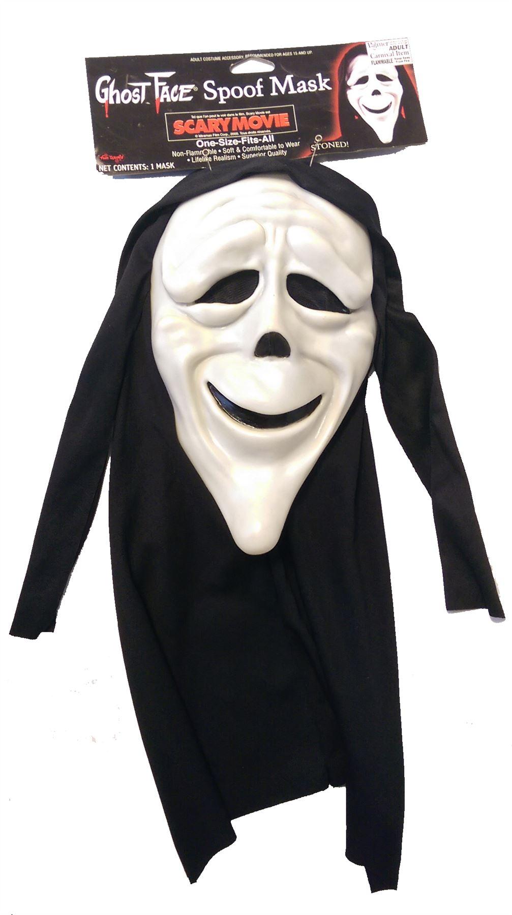 scream scary movie licenced masks halloween fancy dress ebay. Black Bedroom Furniture Sets. Home Design Ideas