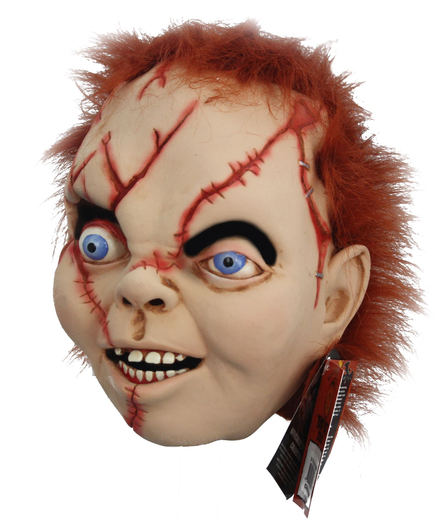 Officially Licensed Bride Of Chucky Evil Doll Full Latex Mask ...