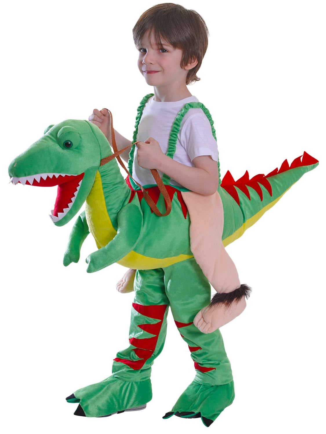 inflatable dinosaur costume instructions