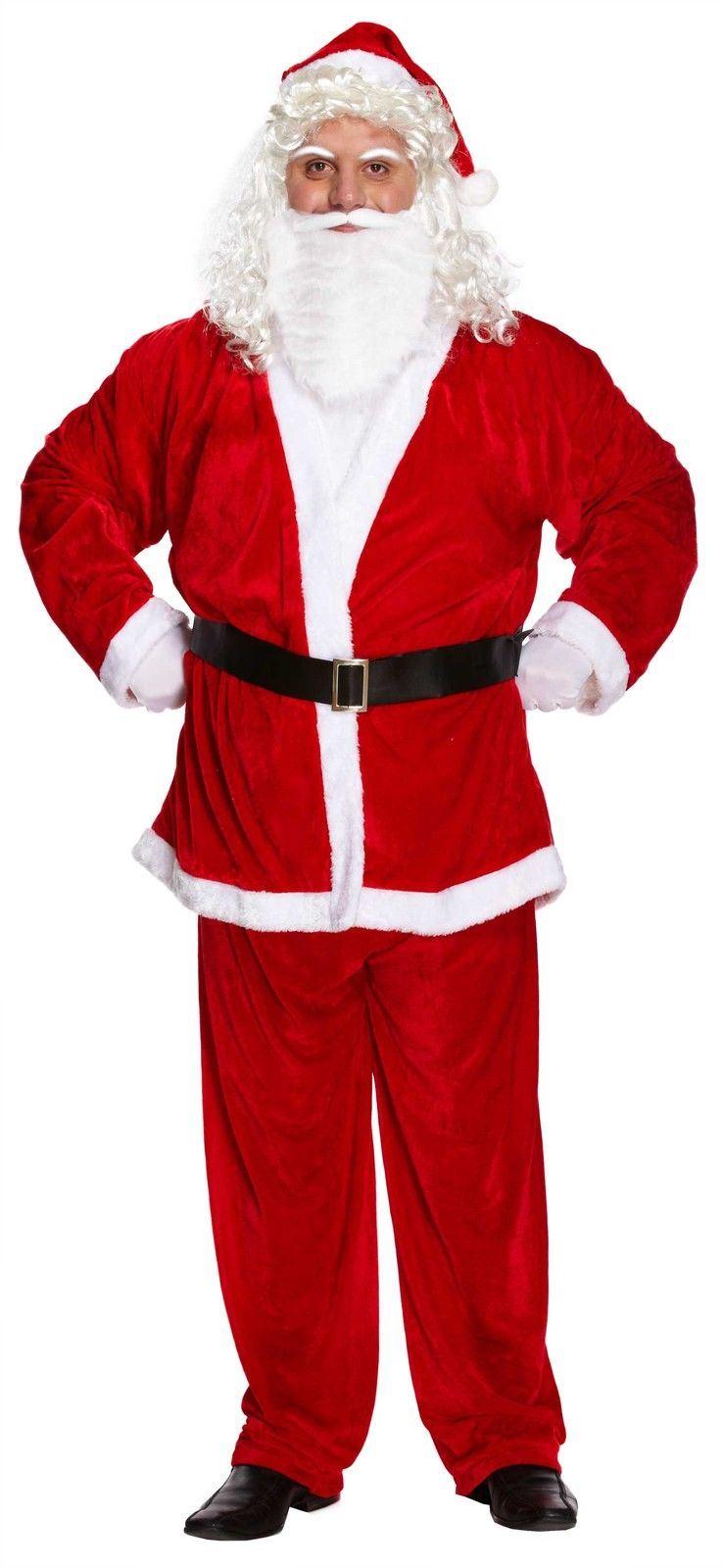 Father christmas fancy dress santa claus best range lot of