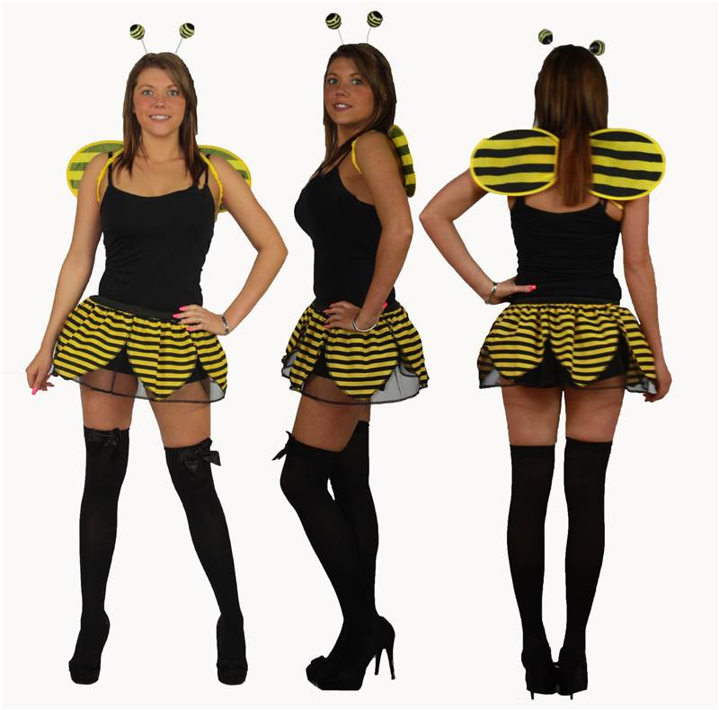 Bumblebee-Leaf-Tutu-sets-and-accessories-standard-plussize