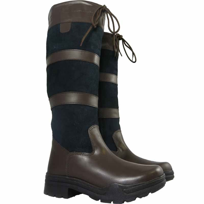 mens country boot winter leather