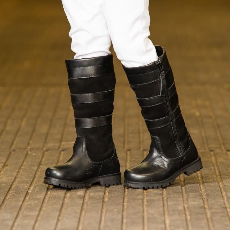Childrens Pony Horse Riding Country Boots Waterproof
